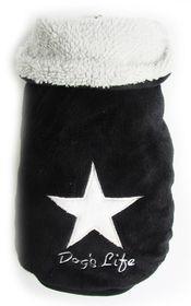 Dog's Life - Star Cape Jacket - Black - Extra-Small