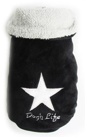 Dog's Life - Star Cape Jacket - Black - Small