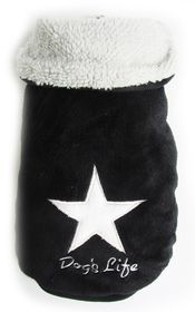 Dogs Life - Star Cape Jacket - Black - 3 x Extra-Large