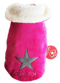 Dog's Life - Star Cape Jacket - Pink - 5 x Extra Large