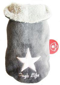 Dog's Life - Star Cape Jacket - Grey - Extra Small