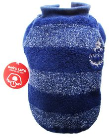 Dog's Life - Wool Jersey 2 - Navy - 4 x Extra-Large