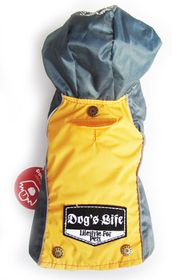 Dogs Life - Winter Rain Coat - Yellow - 5 x Extra-Large