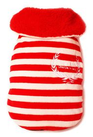 Dog's Life - Wreath Cape - Red - Extra Small