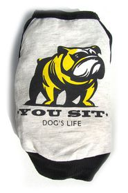 Dog's Life - You Sit Funk Tee Black - Extra Small