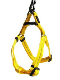Dog's Life - Reflective Supersoft Webbing Harness - Yellow - Large