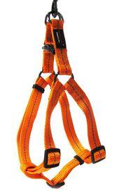 Dog's Life - Reflective Supersoft Webbing Harness - Orange - Large