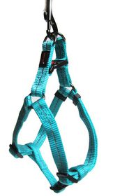 Dog's Life - Reflective Supersoft Webbing Harness - Turquoise - Small