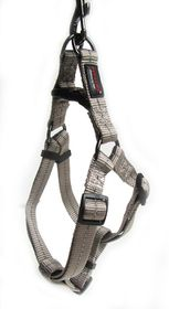 Dog's Life - Reflective Supersoft Webbing Harness - Grey - Medium