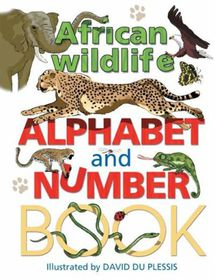 African Alphabet Wildlife and Number Book