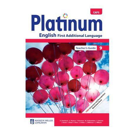 Platinum CAPS English First Additional Language Grade 9 Teacher's Guide