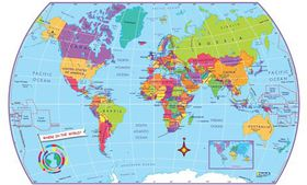 World sticker map tube map buy online in south africa takealot world sticker map tube map gumiabroncs Images