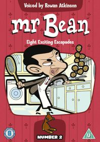 Mr.Bean Vol.2 (Animated) - (Import DVD)