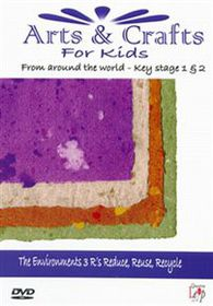 Arts & Crafts for Kids-the R's - (Import DVD)