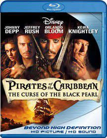 Pirates Of The Carribean (Blu-ray)