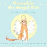 Pumpkin the Angel Cat