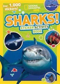 Sharks Sticker Activity Book [With Sticker(s)]