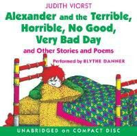 Alexander and the Terrible, Horrible, No Good, Very Bad Day CD