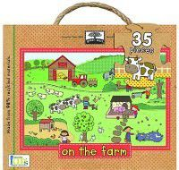 Green Start on the Farm Giant Floor Puzzle