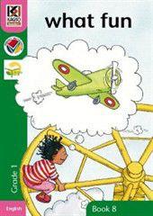 Kagiso Readers What Fun: Grade 1 Book 8 (Big Book)