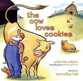 The Cow Loves Cookies