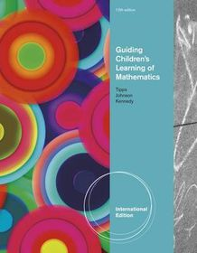 Guiding Children's Learning of Mathematics, International Edition