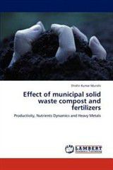 Effect of Municipal Solid Waste Compost and Fertilizers