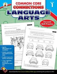 Common Core Connections Language Arts, Grade 1