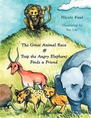 The Great Animal Race & Trap the Angry Elephant Finds a Friend
