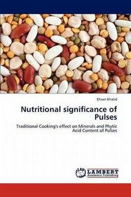 Nutritional Significance of Pulses