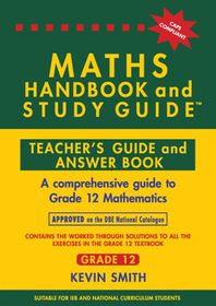 Maths Handbook and Study Guide