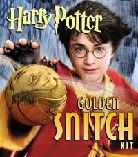 Harry Potter Golden Snitch Sticker Kit [With Book and Stickers]