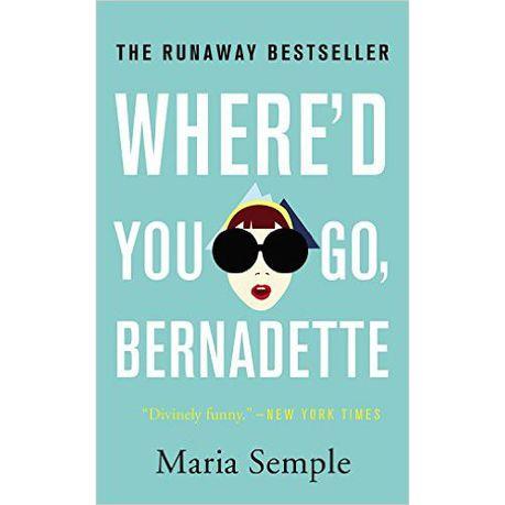 Whered You Go Bernadette Book