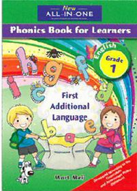 New All-In-One Grade 1 FAL Phonics Learner's Book (Full-colour)