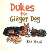 Dukes the Ginger Dog