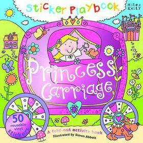 Sticker Playbook Princess Carriage