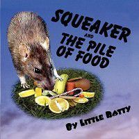 Squeaker and the Pile of Food