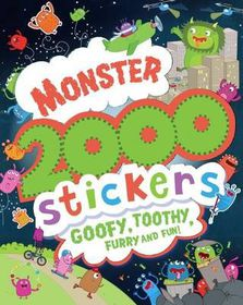 Monster 2000 Stickers Activity Book