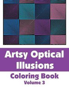 Artsy Optical Illusions Coloring Book
