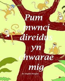 Pum Mwnci Direidus Yn Chwarae MIG