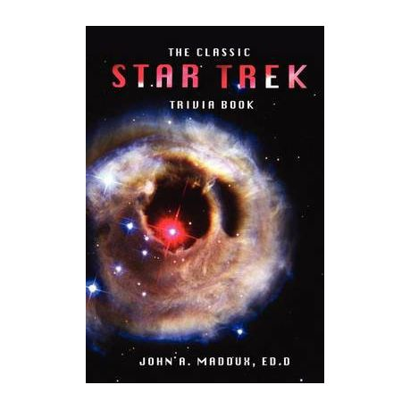 The Classic Star Trek Trivia Book Buy Online In South Africa