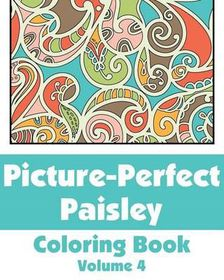 Picture-Perfect Paisley Coloring Book (Volume 4)