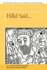 Hillel Said...