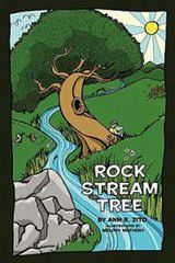 Rock, Stream, Tree