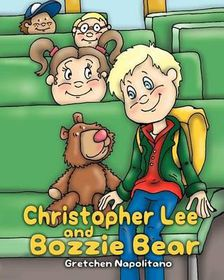 Christopher Lee and Bozzie Bear