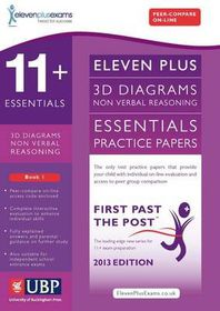 11+ Essentials 3D Non-Verbal Reasoning Practice Papers for CEM