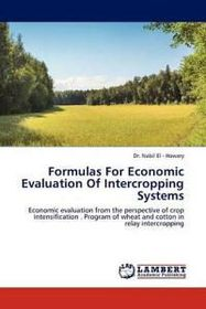 Formulas for Economic Evaluation of Intercropping Systems