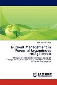 Nutrient Management in Perennial Leguminous Forage Shrub