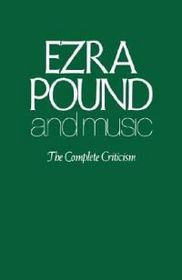 Ezra Pound and Music
