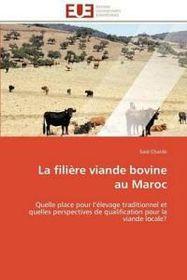 La Filiere Viande Bovine Au Maroc